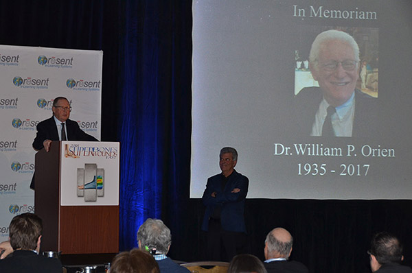 Dr William P Orien Memorial Lecture